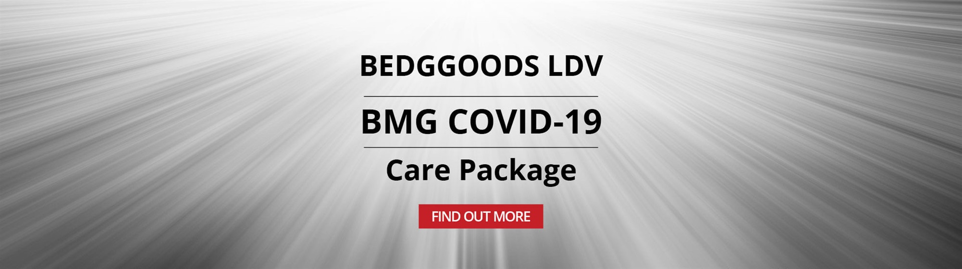 BMG COVID 19 Care Package